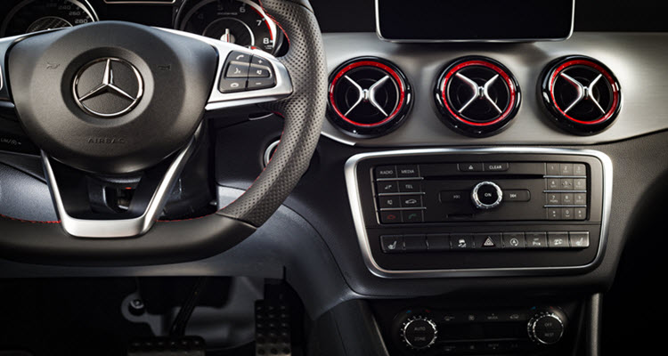 Mercedes Steering